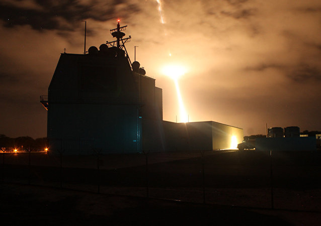 Sistema de defesa antimíssil estadunidense Aegis Ashore, aprovado no final do ano passado para ser instalado no território japonês