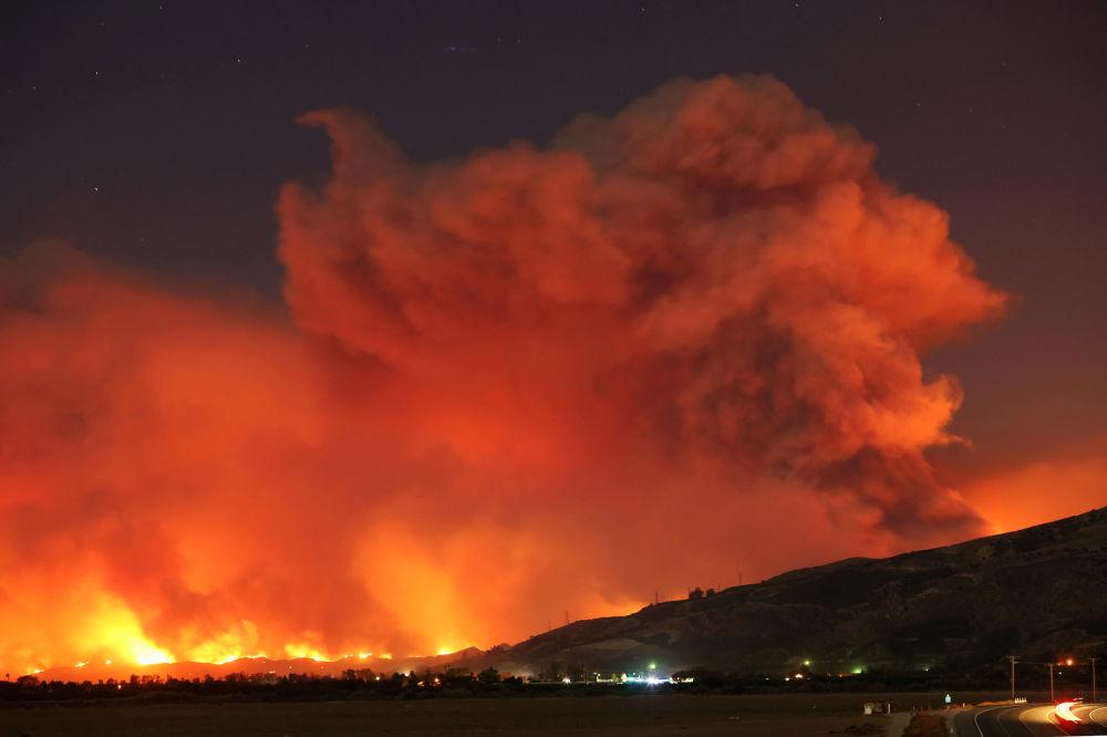 Incêndios florestais em Califórnia, EUA