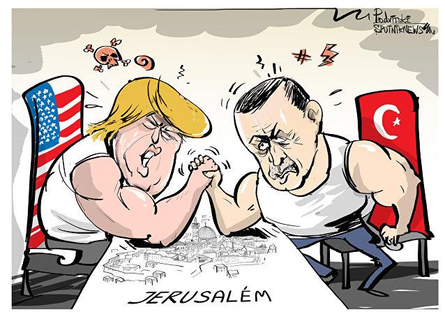 Queda de braço por Jerusalém está acirradíssima