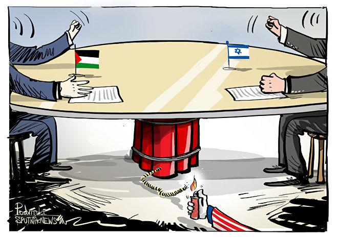 Olhe o intruso entrando para acabar com negociação de paz