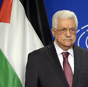Mahmud Abbas em junho de 2016