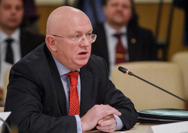 Deputy Foreign Minister Vasily Nebenzya