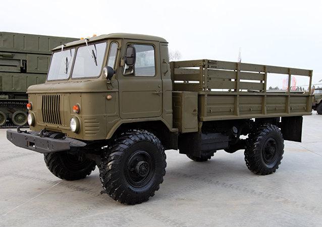 GAZ-66 (foto de arquivo)