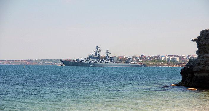 Navio de guerra cruzador Moskva