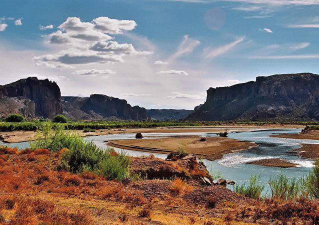 Província de Chubut  da Patagônia argentina