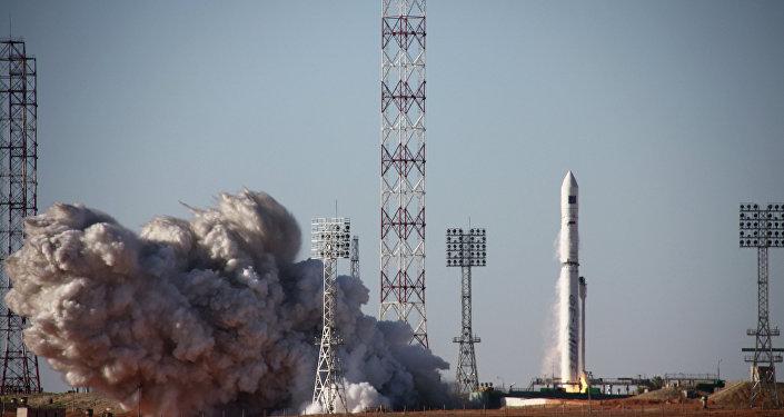 Foguete-portador Zenit-3SLBF lança observarório astrofísico Spektr-R do cosmódromo de Baikonur (foto de arquivo)