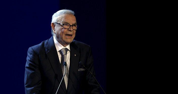 Ex-presidente da CBF, José Maria Marin