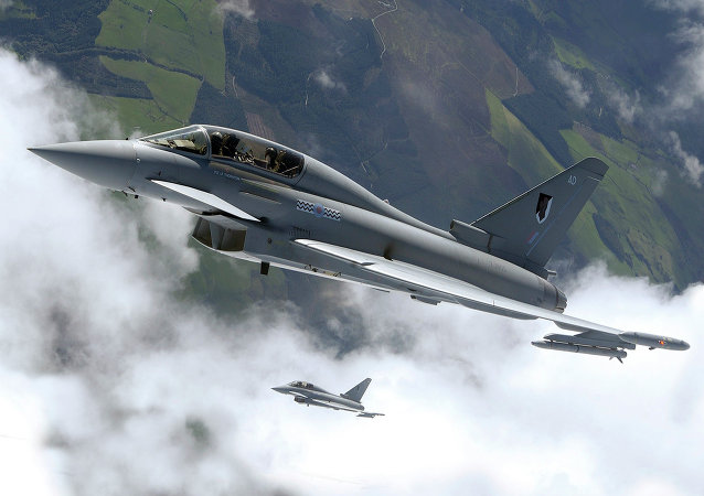 Caça Eurofighter Typhoon