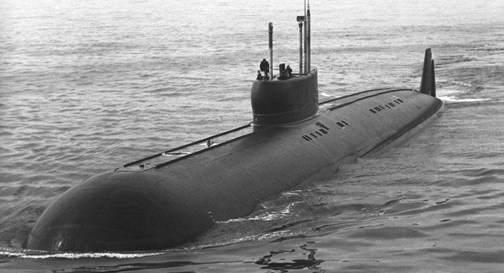 K-222, submarino soviético (foto de arquivo)