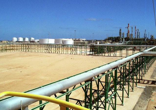 Oleoduto na Líbia