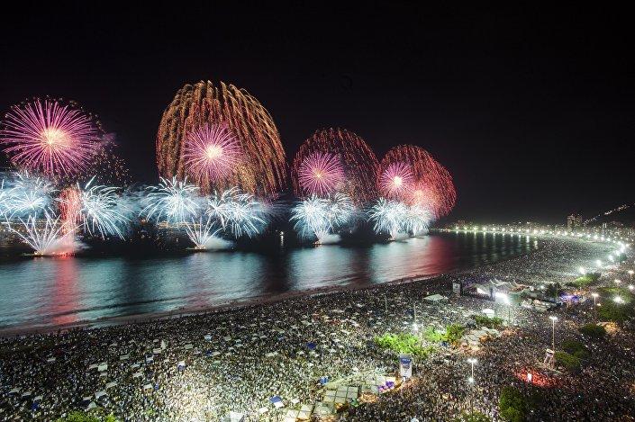 Três milhões de pessoas receberão o Ano Novo em Copacabana