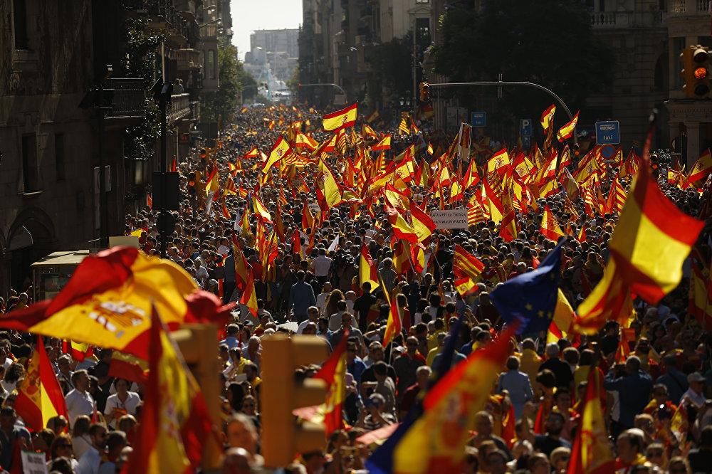 O ano foi marcado pela crise separatista da Catalunha, na Espanha, que ainda está longe de acabar.