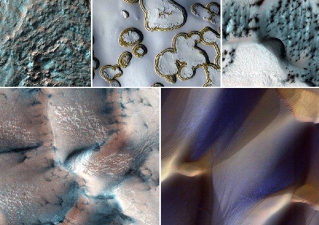 Inverno marciano em FOTOS esplêndidas da NASA