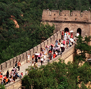 Grande Muralha da China (foto de arquivo)
