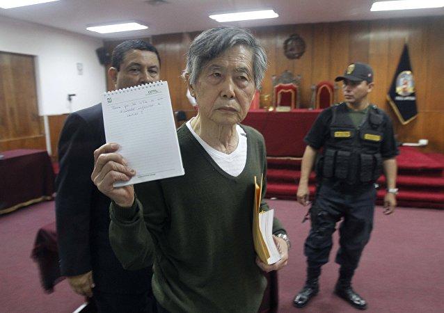 Alberto Fujimori em novembro de 2013