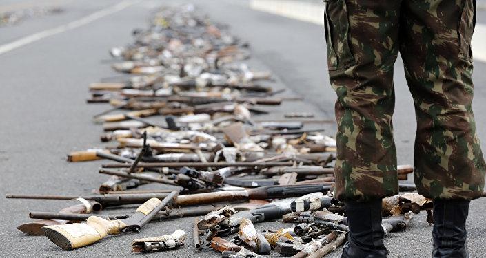 Operação Vulcão, realizada pelo Exército, destruiu 100 mil armas em todo o país