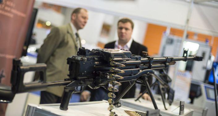 A metralhadora de grande calibre Kord (foto de arquivo)