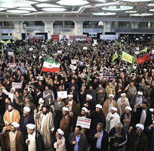 Protestos em Teerã, 30 de dezembro de 2017