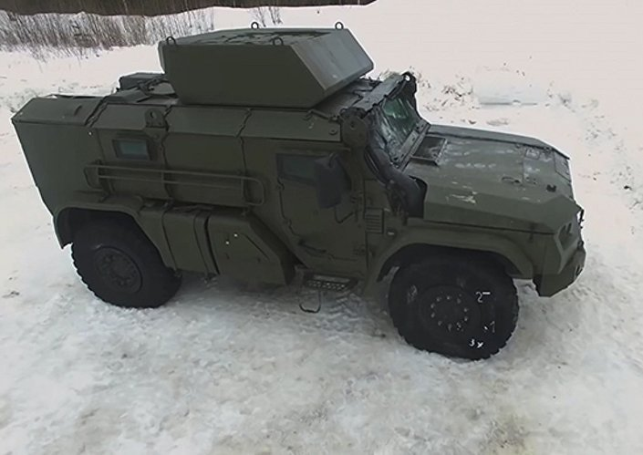 Novo veículo para tropas aerotransportadas russas