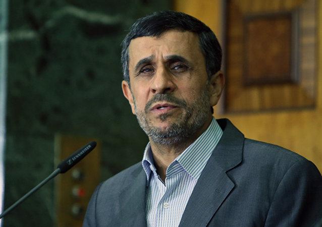 Ex-presidente iraniano Mahmoud Ahmadinejad