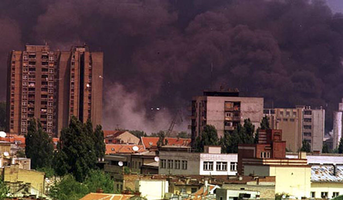 Iugoslávia durante bombardeio da OTAN, 1999