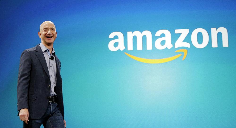 Jeff Bezos, CEO da Amazon.