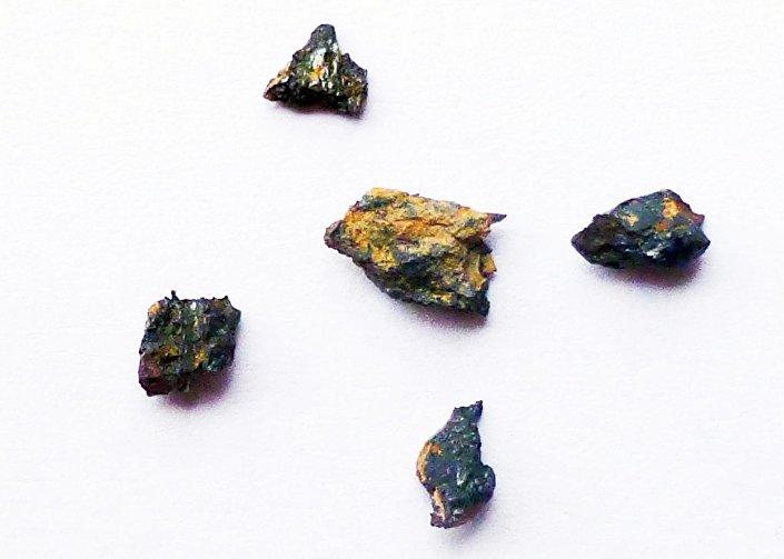 Pedra extraterrestre Hypatia encontrada no deserto do Saara, Egito, em 1996