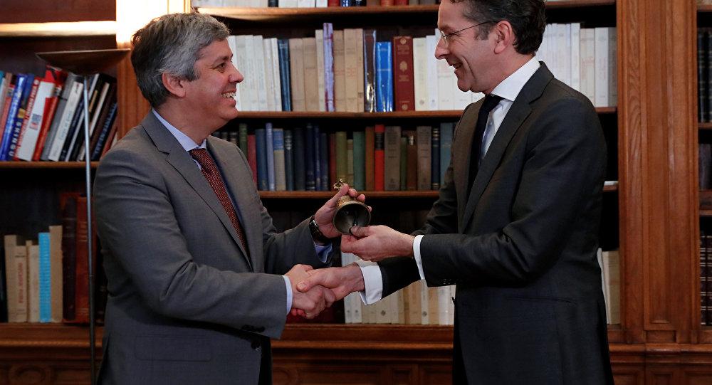 Centeno assume hoje liderança do Eurogrupo
