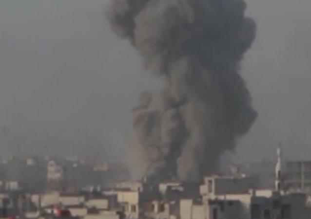 Arma com a qual exército sírio elimina terroristas