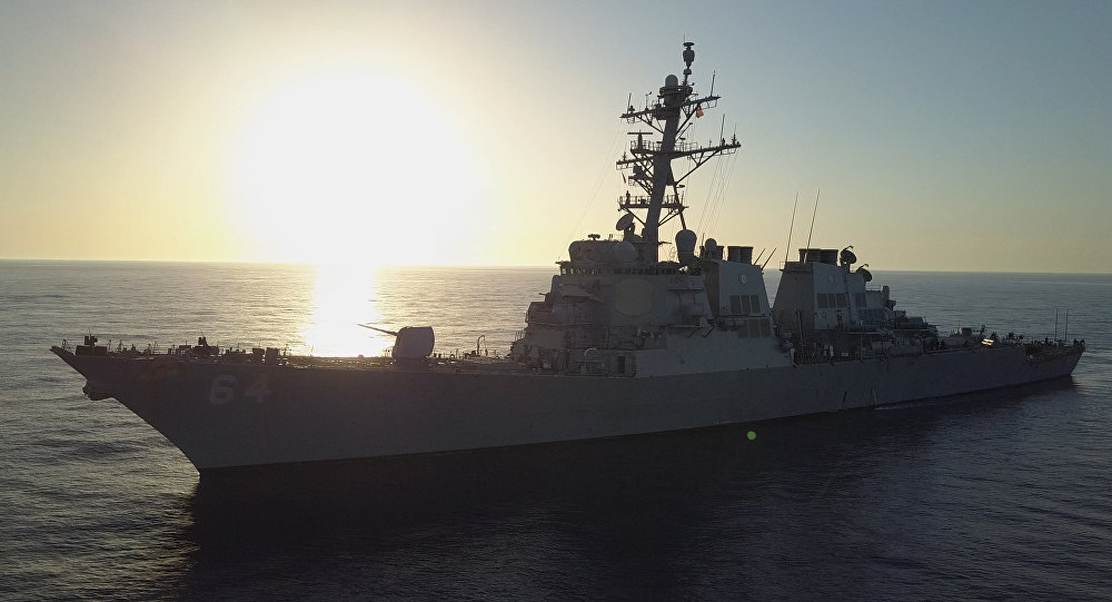 Destróier estadunidense USS Carney
