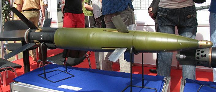 Projétil russo de alta precisão Krasnopol.