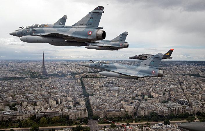Aviões de assalto Alpha Jet