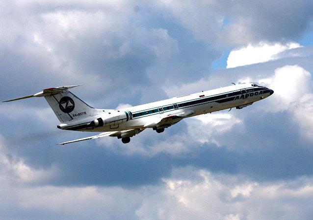 Avião russo Tu-134B-3