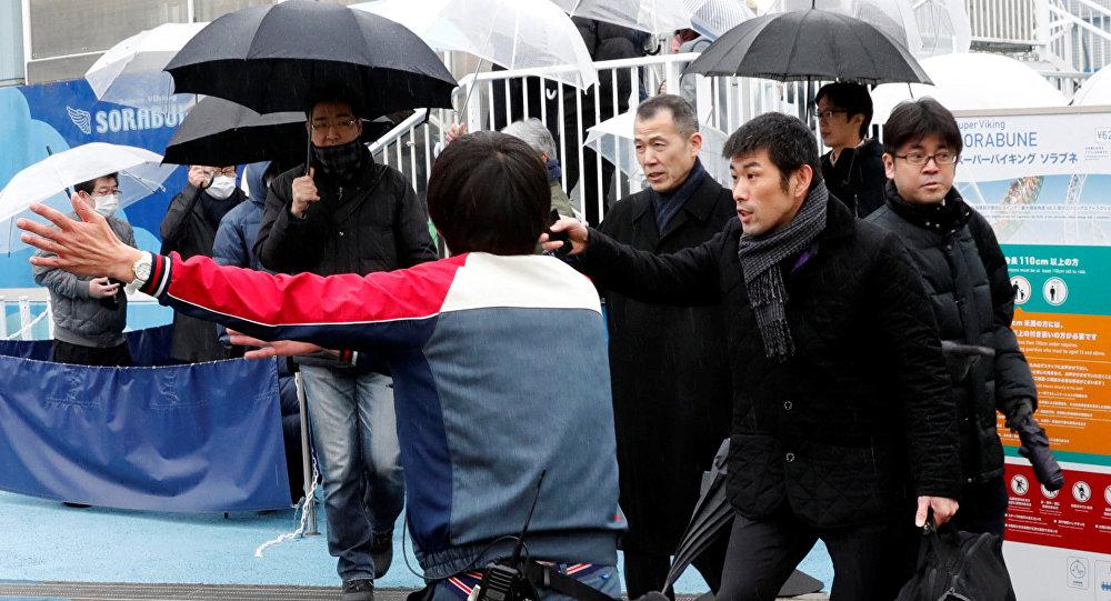 Simulacro de evacuación ante una amenaza de ataque con misiles en Tokio, Japón
