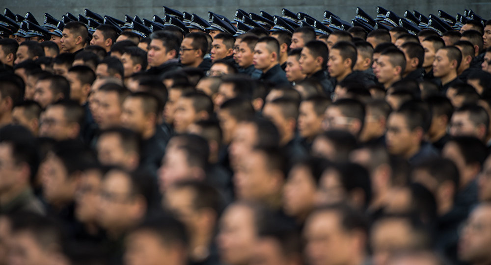 Soldados do Exército Popular de Libertação da China