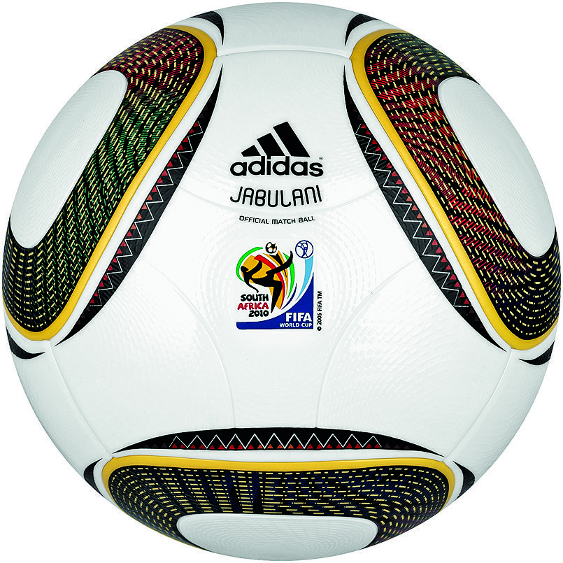 Jabulani, a bola utilizada na Copa do Mundo da África do Sul, em 2010.