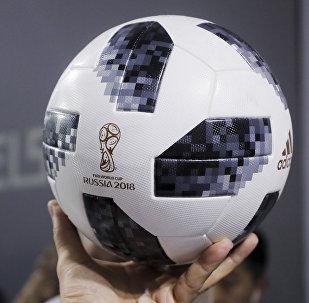 Telstar 18, bola que será utilizada na Copa do Mundo da Rússia.