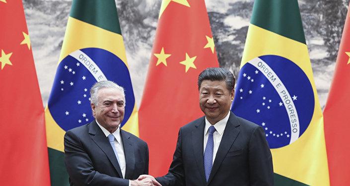 Investimentos chineses no Brasil somaram quase US$ 21 bilhões em 2017