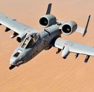 Caça-bombardeiro norte-americano A-10 Thunderbolt II