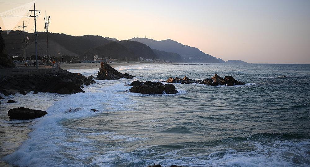 Costas do mar do Japão (mar do Leste), Coreia do Sul