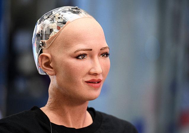 Robô humanoide Sophia