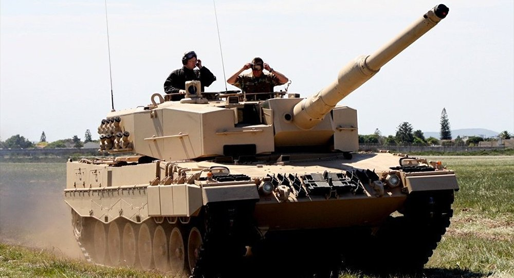 Tanque Leopard 2A4.