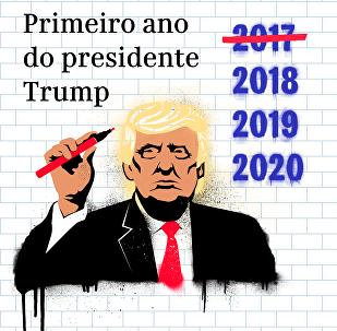 Um ano de Trump: promessas cumpridas e não