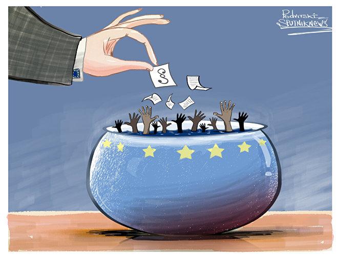 UE pretende combater migração ilegal.