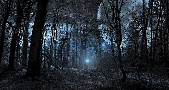 Naves espaciais alienígenas, imagem referencial