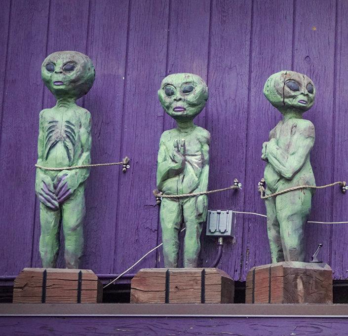 Figuras de alienígenas em Sedona, Arizona
