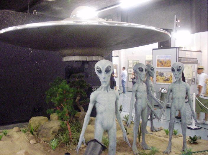 Museu de OVNIs em Roswell, EUA