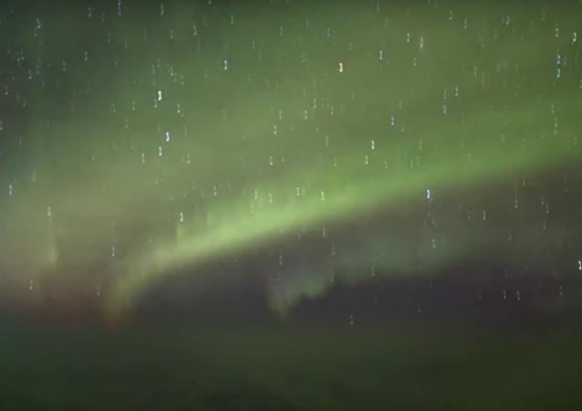 Aurora boreal filmada por Aryeh Nirenberg