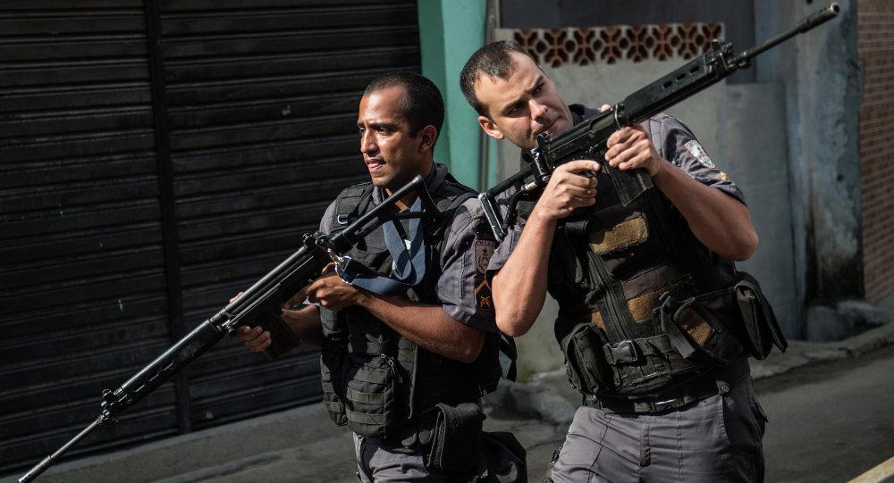 PM no Rio de Janeiro.