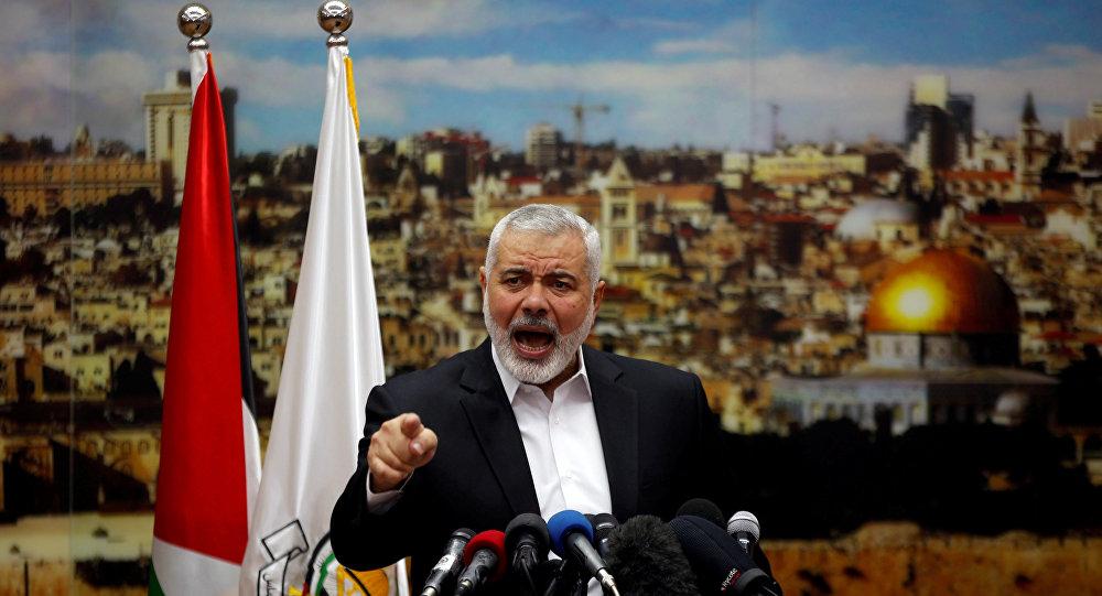 O líder do Hamas, Ismail Haniyeh